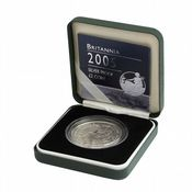 2005 Silver Proof Britannia Single With Certificate